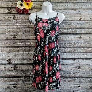 Banana Republic | Sheer Floral Night Dress | XS